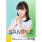 SKE48 2016年6月度 net shop限定個別生写真「初夏 ワンピース」5枚セット 竹内彩姫