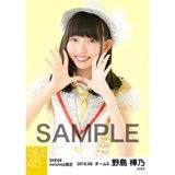 SKE48 2016年6月度 net shop限定個別生写真「奇跡は間に合わない」衣装5枚セット 野島樺乃