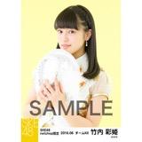 SKE48 2016年6月度 net shop限定個別生写真「奇跡は間に合わない」衣装5枚セット 竹内彩姫