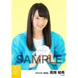 SKE48 2016年6月度 個別生写真「レインウェア」5枚セット 髙畑結希