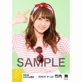SKE48 2016年7月度 net shop限定個別生写真「マリンスタイル」5枚セット 竹内舞
