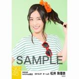 SKE48 2016年7月度 net shop限定個別生写真「マリンスタイル」5枚セット 松井珠理奈