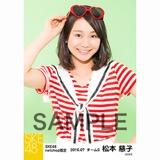 SKE48 2016年7月度 net shop限定個別生写真「マリンスタイル」5枚セット 松本慈子