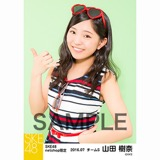 SKE48 2016年7月度 net shop限定個別生写真「マリンスタイル」5枚セット 山田樹奈
