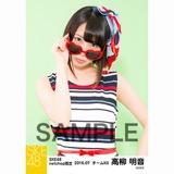 SKE48 2016年7月度 net shop限定個別生写真「マリンスタイル」5枚セット 高柳明音