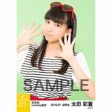 SKE48 2016年7月度 net shop限定個別生写真「マリンスタイル」5枚セット 太田彩夏
