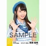 SKE48 2016年7月度 net shop限定個別生写真「マリンスタイル」5枚セット 髙畑結希
