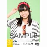 SKE48 2016年7月度 net shop限定個別生写真「マリンスタイル」5枚セット 町音葉