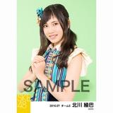 SKE48 2016年7月度 個別生写真「ドームストライプ」5枚セット 北川綾巴