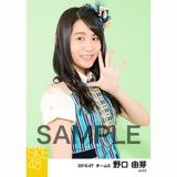 SKE48 2016年7月度 個別生写真「ドームストライプ」5枚セット 野口由芽
