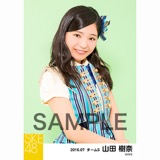 SKE48 2016年7月度 個別生写真「ドームストライプ」5枚セット 山田樹奈