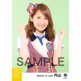 SKE48 2016年7月度 個別生写真「ドームストライプ」5枚セット 内山命