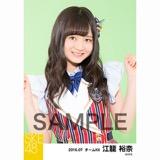 SKE48 2016年7月度 個別生写真「ドームストライプ」5枚セット 江籠裕奈