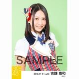 SKE48 2016年7月度 個別生写真「ドームストライプ」5枚セット 古畑奈和