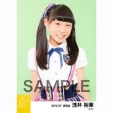 SKE48 2016年7月度 個別生写真「ドームストライプ」5枚セット 浅井裕華