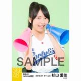SKE48 2016年7月度 net shop限定個別生写真「ベースボール」5枚セット 杉山愛佳