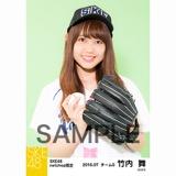 SKE48 2016年7月度 net shop限定個別生写真「ベースボール」5枚セット 竹内舞