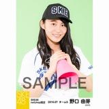SKE48 2016年7月度 net shop限定個別生写真「ベースボール」5枚セット 野口由芽
