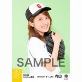 SKE48 2016年7月度 net shop限定個別生写真「ベースボール」5枚セット 内山命