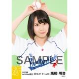 SKE48 2016年7月度 net shop限定個別生写真「ベースボール」5枚セット 高柳明音