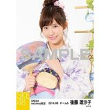 SKE48 2016年8月度 net shop限定個別生写真「浴衣」5枚セット 後藤理沙子