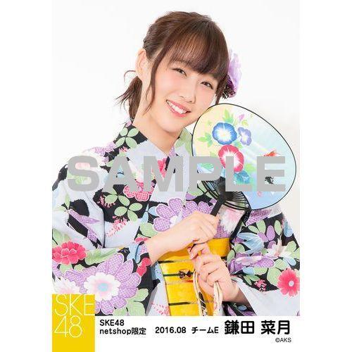 SKE48 2016年8月度 net shop限定個別生写真「浴衣」5枚セット 鎌田菜月
