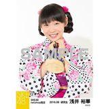 SKE48 2016年8月度 net shop限定個別生写真「浴衣」5枚セット 浅井裕華
