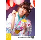 SKE48 2016年8月度 個別生写真「夏祭り」5枚セット 山内鈴蘭