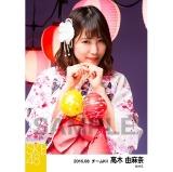 SKE48 2016年8月度 個別生写真「夏祭り」5枚セット 高木由麻奈