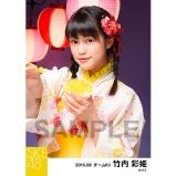 SKE48 2016年8月度 個別生写真「夏祭り」5枚セット 竹内彩姫