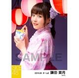 SKE48 2016年8月度 個別生写真「夏祭り」5枚セット 鎌田菜月