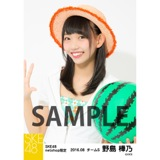 SKE48 2016年8月度 net shop限定個別生写真「サマーバケーション」5枚セット 野島樺乃