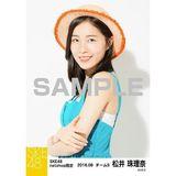 SKE48 2016年8月度 net shop限定個別生写真「サマーバケーション」5枚セット 松井珠理奈