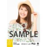 SKE48 2016年8月度 net shop限定個別生写真「サマーバケーション」5枚セット 内山命