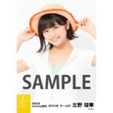 SKE48 2016年8月度 net shop限定個別生写真「サマーバケーション」5枚セット 北野瑠華