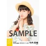 SKE48 2016年8月度 net shop限定個別生写真「サマーバケーション」5枚セット 竹内彩姫