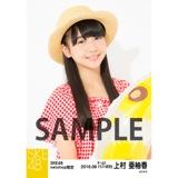 SKE48 2016年8月度 net shop限定個別生写真「サマーバケーション」5枚セット 上村亜柚香
