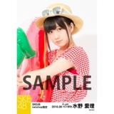 SKE48 2016年8月度 net shop限定個別生写真「サマーバケーション」5枚セット 水野愛理