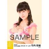 SKE48 2016年9月度 net shop限定個別生写真「パレオはエメラルド」衣装5枚セット 竹内彩姫