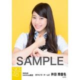 SKE48 8周年記念 net shop限定個別ランダム生写真5枚セット 井田玲音名