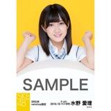SKE48 8周年記念 net shop限定個別ランダム生写真5枚セット 水野愛理