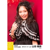 SKE48 2016年10月度 net shop限定個別生写真「ハロウィンII」5枚セット 山田樹奈