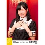SKE48 2016年10月度 net shop限定個別生写真「ハロウィンII」5枚セット 福士奈央