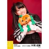 SKE48 2016年10月度 net shop限定個別生写真「ハロウィンII」5枚セット 片岡成美