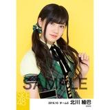 SKE48 2016年10月度 個別生写真「グリーンチェック」5枚セット 北川綾巴