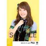 SKE48 2016年10月度 個別生写真「グリーンチェック」5枚セット 内山命