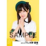 SKE48 2016年10月度 個別生写真「グリーンチェック」5枚セット 水野愛理