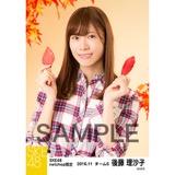 SKE48 2016年11月度 net shop限定個別生写真「秋の行楽」5枚セット 後藤理沙子
