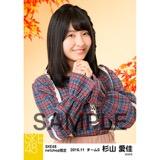 SKE48 2016年11月度 net shop限定個別生写真「秋の行楽」5枚セット 杉山愛佳