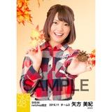 SKE48 2016年11月度 net shop限定個別生写真「秋の行楽」5枚セット 矢方美紀